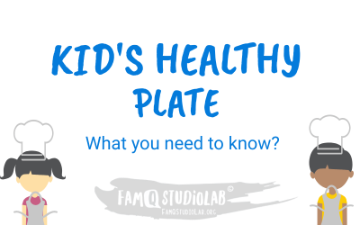 Kids Nutrition Plate and Important Key Categories to include in 1 Meal