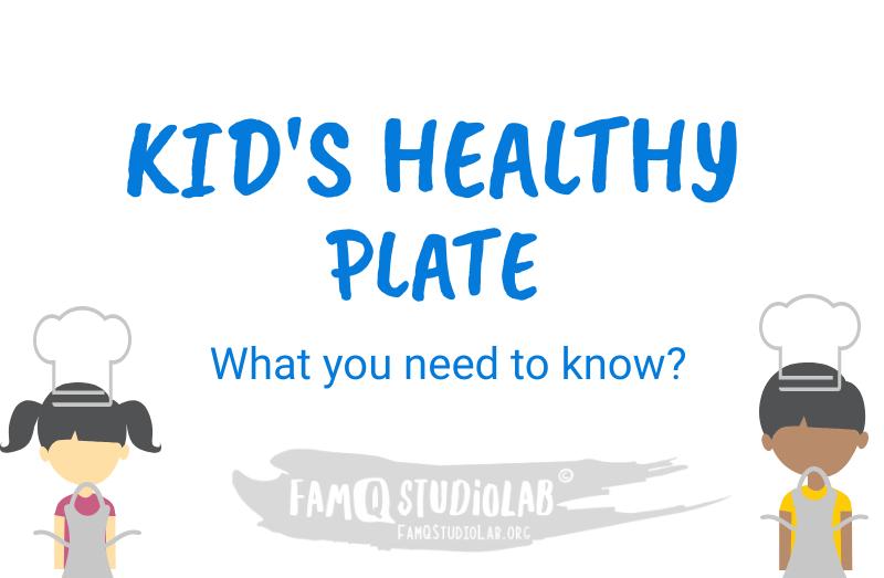 Kids Nutrition Plate famqstudiolab