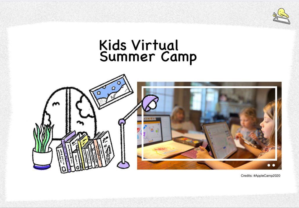 Kids Virtual Summer Camps 2020 FamQStudioLab