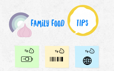 9 Healthy Family Food Tips and advice from Tal Ben-Shahar and Daily Dozen Infographic from Dr. Greger
