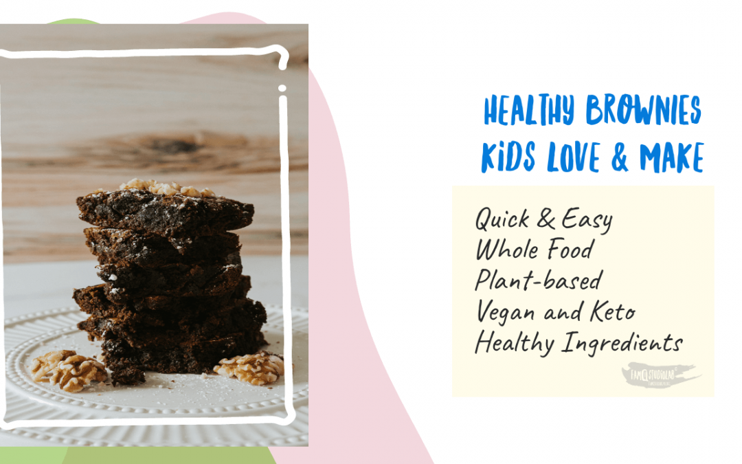 Healthy Brownies Recipe Kids Love and Make in 25 minutes