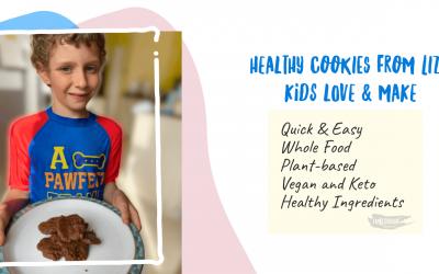 Healthy Cookies Recipe from Liza kids love