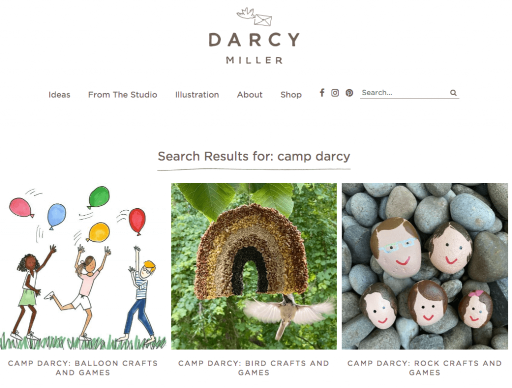 instagram camp with darcy miller