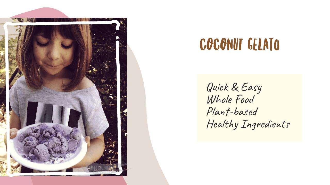 Coconut Gelato Recipe featured